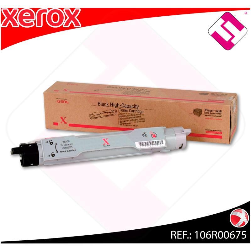 XEROX TONER LASER NEGRO 8.000 PAGINAS PHASER/6250