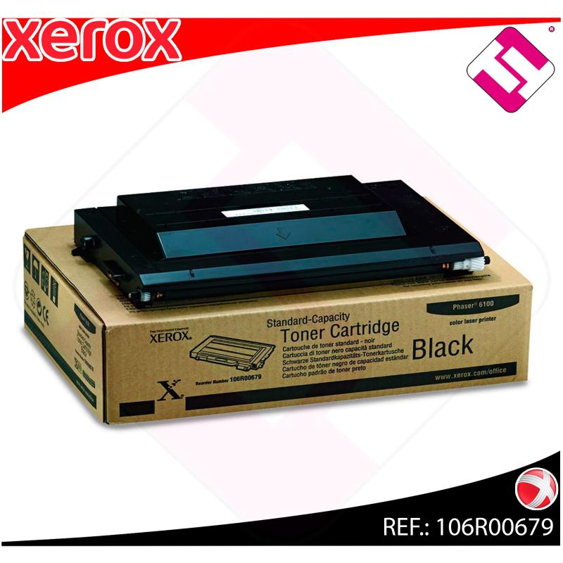 XEROX TONER LASER NEGRO 3.000 PAGINAS PHASER/6100
