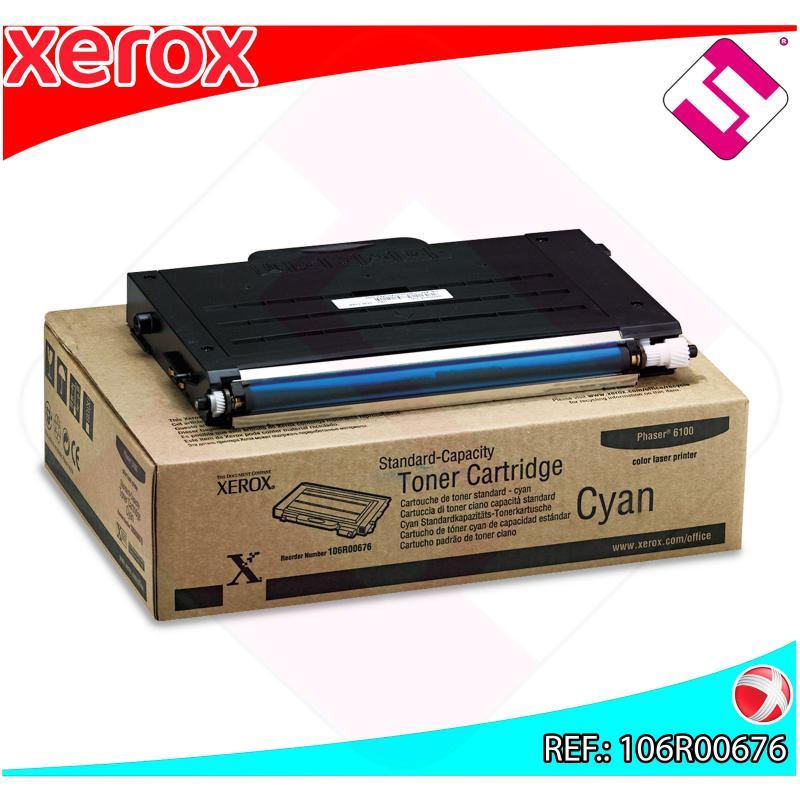 XEROX TONER LASER CIAN 2.000 PAGINAS PHASER/6100 EXTINGUIR