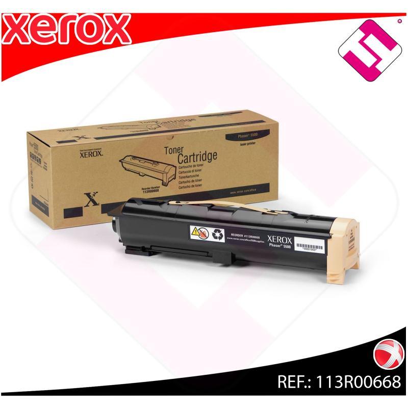 XEROX TONER LASER NEGRO 30.000 PAGINAS PHASER/5500