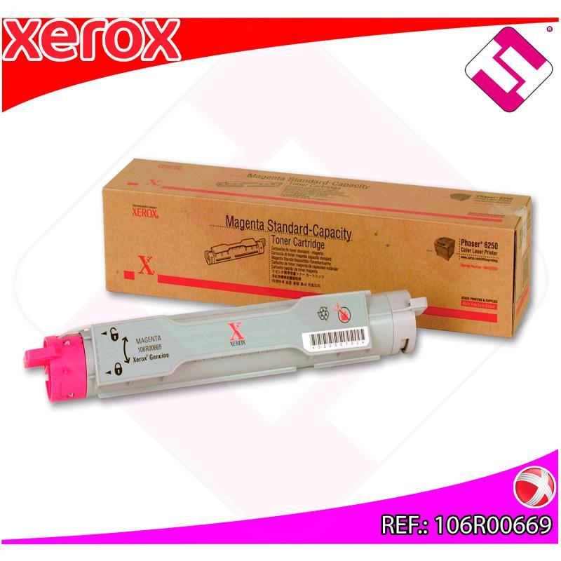 XEROX TONER LASER MAGENTA 4.000 PAGINAS PHASER/6250
