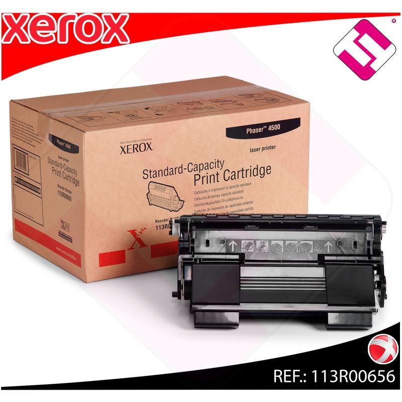XEROX TONER LASER NEGRO 10.000 P GINAS PHASER/4500