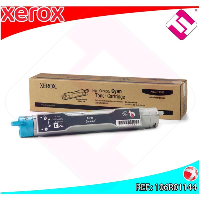 XEROX TONER LASER CIAN 10.000 PAGINAS PHASER 6350