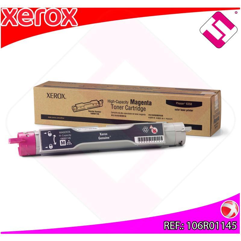 XEROX TONER LASER MAGENTA 6350DP