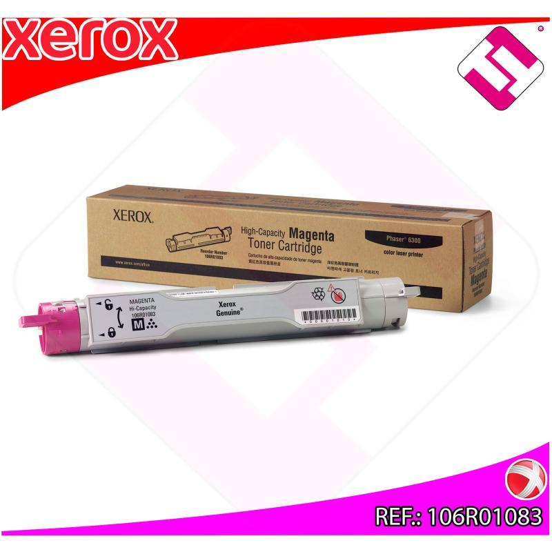 XEROX TONER LASER MAGENTA 7.000 PAGINAS PHASER/6300