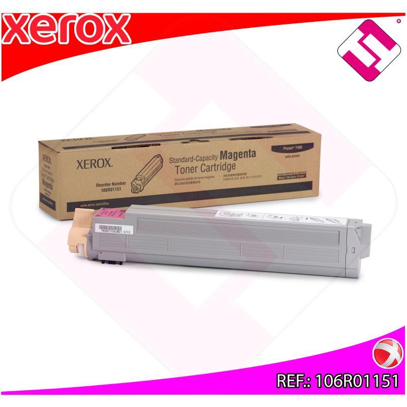 XEROX TONER LASER MAGENTA 7.500 PAGINAS PHASER/7400