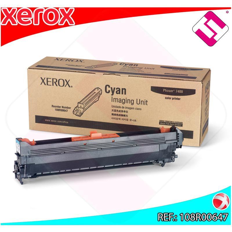 XEROX UNIDAD DE IMAGEN CIAN 30.000 PAGINAS PHASER/7400