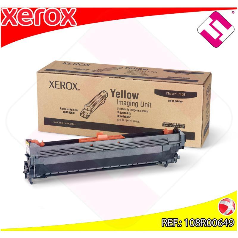XEROX UNIDAD DE IMAGEN AMARILLO 30.000 PAGINAS PHASER/7400