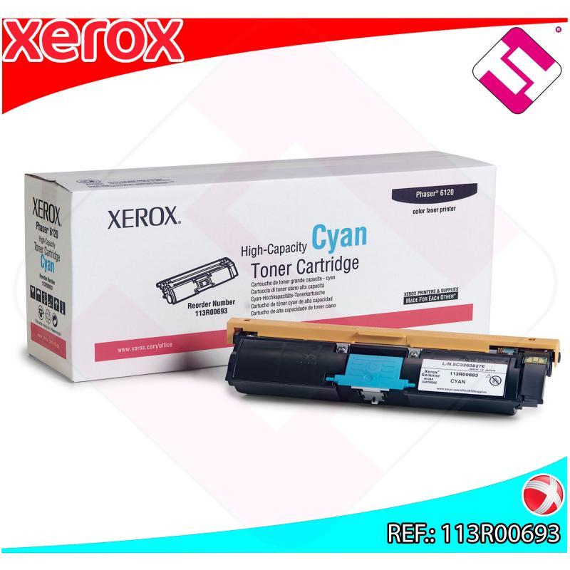 XEROX TONER LASER CIAN 4.500 PGINAS PHASER/6115MFP/6120