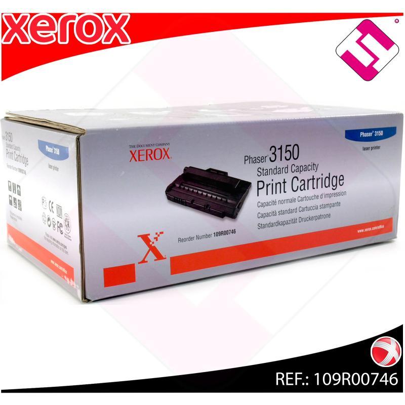 XEROX TONER LASER NEGRO 3.500 PAGINAS PHASER/3150