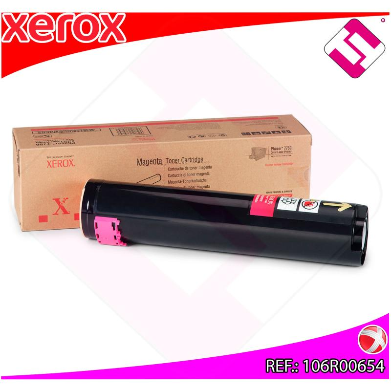 XEROX TONER LASER MAGENTA 22.000 PAGINAS PHASER/7750