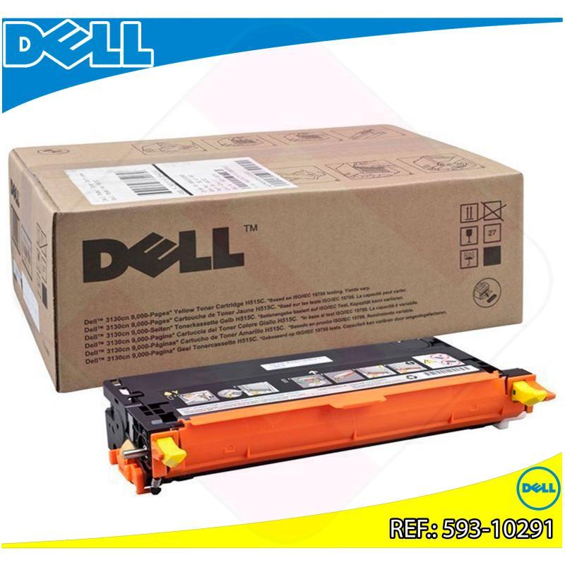 DELL TONER LASER AMARILLO G485F 9.000 PAGINAS 3130CN