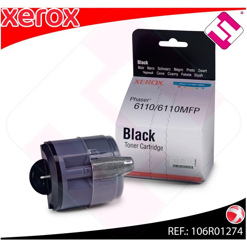 XEROX TONER LASER NEGRO 2.000 PAGINAS PHASER/6110/6110MFP