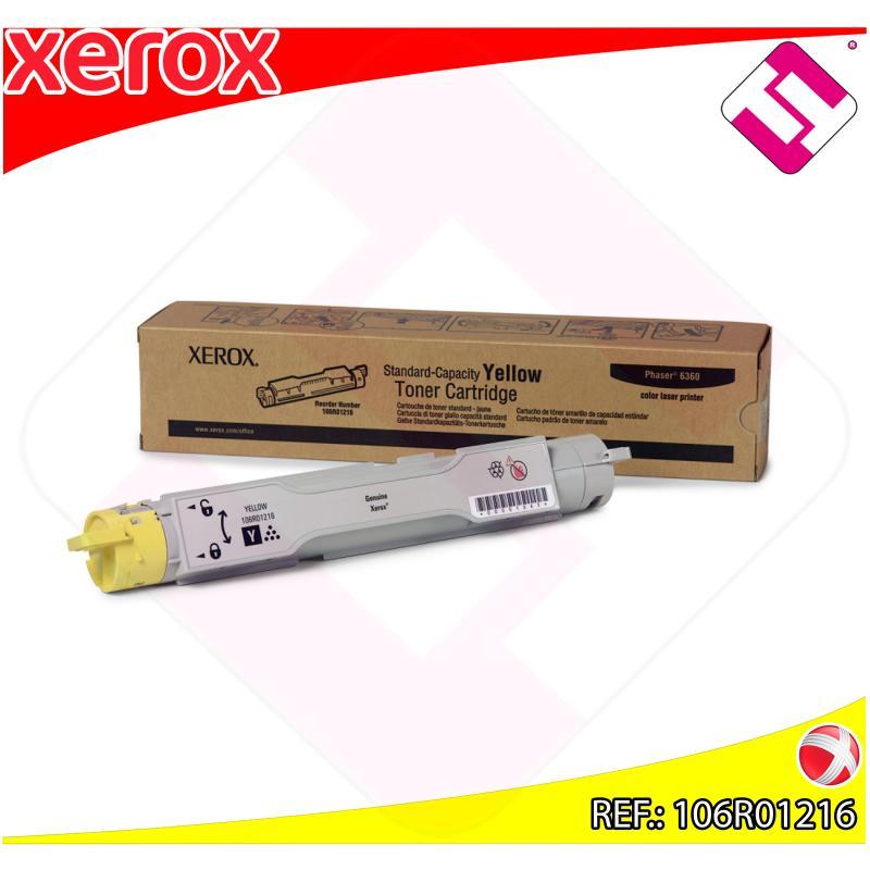 XEROX TONER LASER AMARILLO 5.000 PAGINAS PHASER/6360