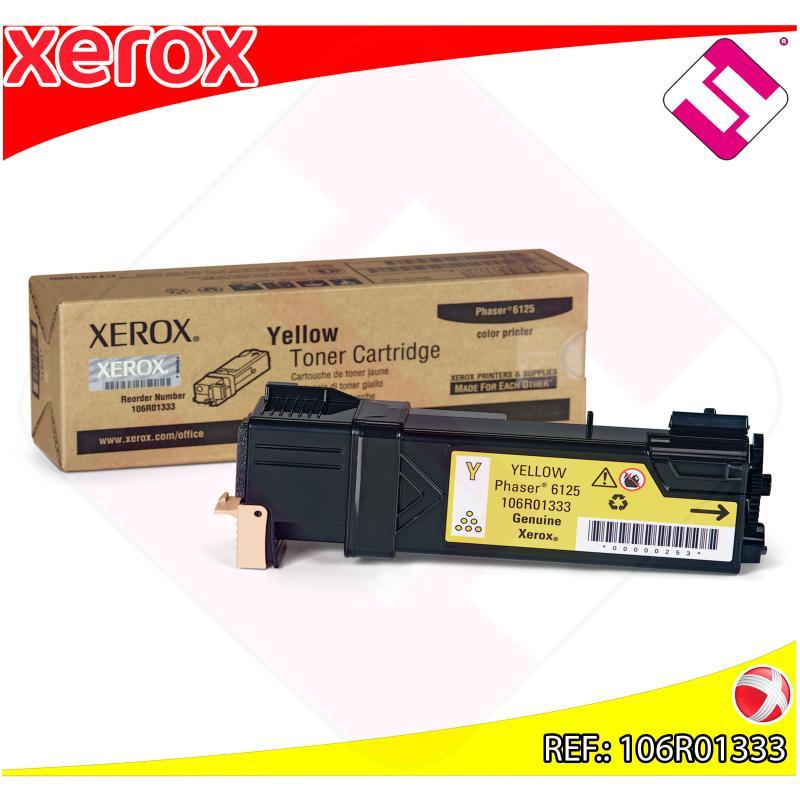 XEROX TONER LASER AMARILLO PHASER/6125