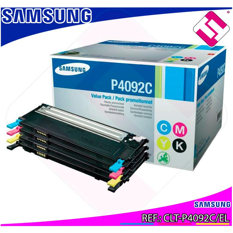 SAMSUNG TONER LASER RAINBOW PACK 1.000 P GINAS CLP-/310/315