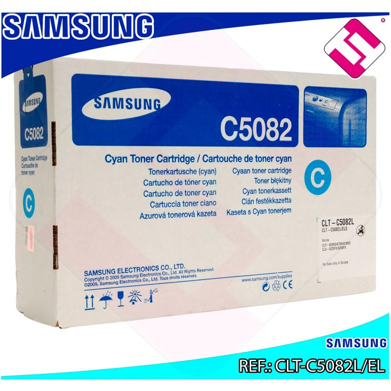 SAMSUNG TONER LASER CIAN 4.000 PAGINAS CLP/620ND/670ND CLX/6