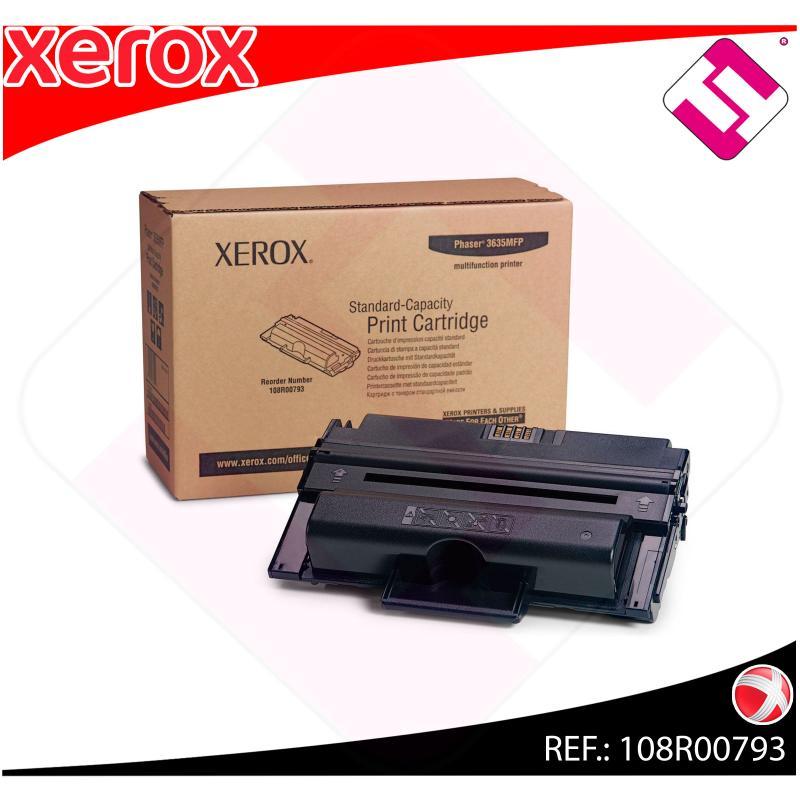 XEROX TONER LASER NEGRO 5.000 PAGINAS PHASER/3635MFP