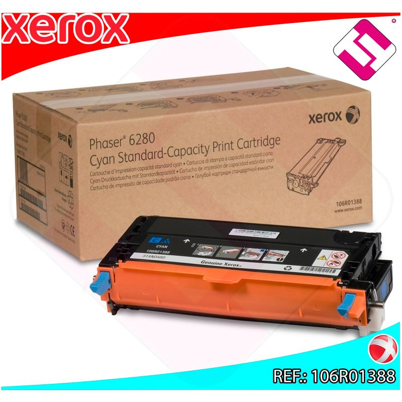 XEROX TONER LASER CIAN 2.200 PAGINAS PHASER/6280