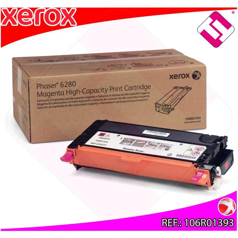 XEROX TONER LASER MAGENTA 6.000 PAGINAS PHASER/6280