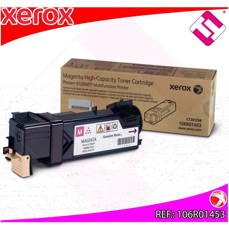 XEROX TONER LASER MAGENTA 2.500 PAGINAS PHASER/6128MFP