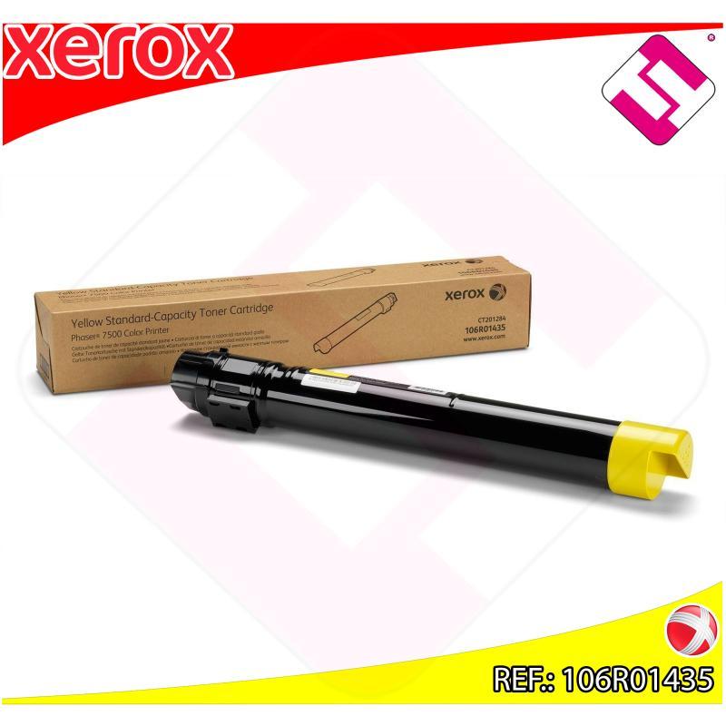 XEROX TONER LASER AMARILLO 9.600 PGINAS PHASER/7500