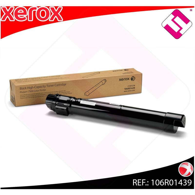 XEROX TONER LASER NEGRO 19.800 PGINAS PHASER/7500