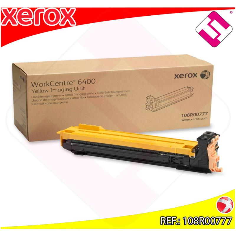 XEROX TAMBOR LASER AMARILLO 30.000 PAGINAS WORKCENTRE/6400