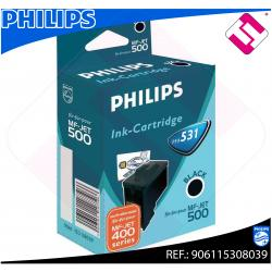 PHILIPS CARTUCHO INYECCION TINTA NEGRO PFA 531 MF-JET/435/44