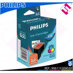 PHILIPS CARTUCHO INYECCION TINTA COLOR PFA 534 MF-JET/435/44