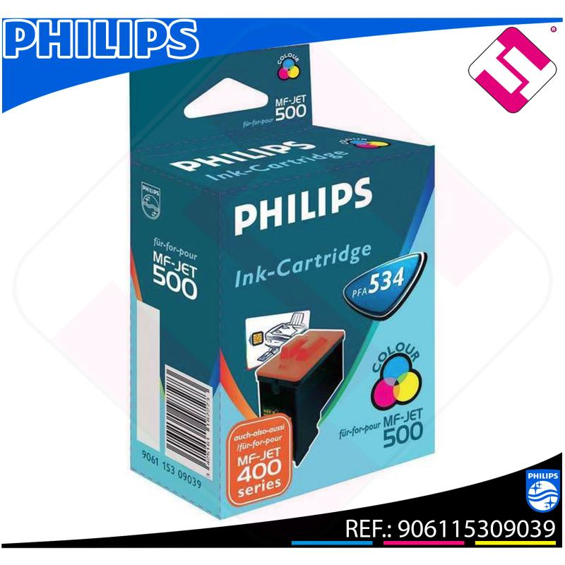 PHILIPS CARTUCHO INYECCION TINTA COLOR PFA 534 MF-JET/435/44