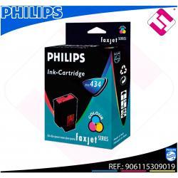 PHILIPS CARTUCHO INYECCION TINTA COLOR PFA 434 FAX JET IPF/3