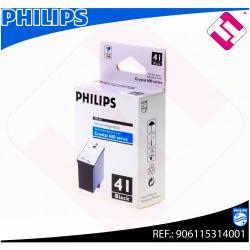 PHILIPS CARTUCHO INYECCION TINTA NEGRO PFA 541 SERIE CRYSTAL
