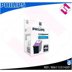 PHILIPS CARTUCHO INYECCION TINTA COLOR PFA 546 SERIE CRYSTAL