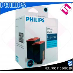PHILIPS CARTUCHO INYECCION TINTA NEGRO PFA 432 PACK 2 IPF/32