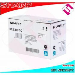 SHARP TONER CYAN MX-C250F/C300W/C301W