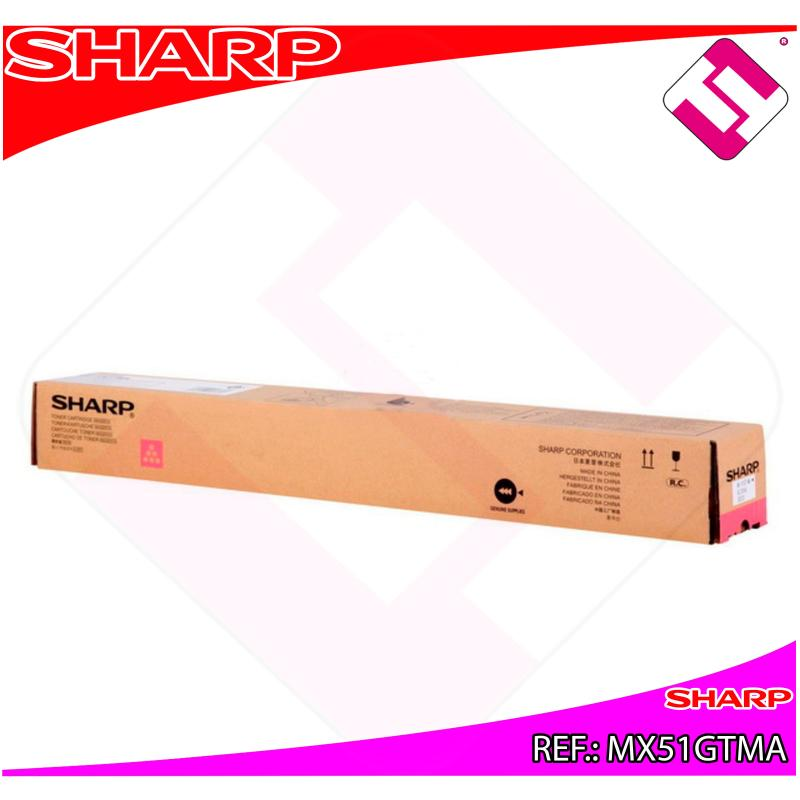 SHARP TONER MAGENTA MX4112N.MX5112N 18000 PAGINAS