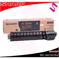 SHARP TONER NEGRO MX5500/6200/7000