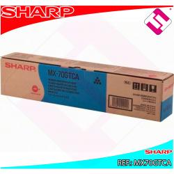 SHARP TONER CYAN MX5500/6200/7000