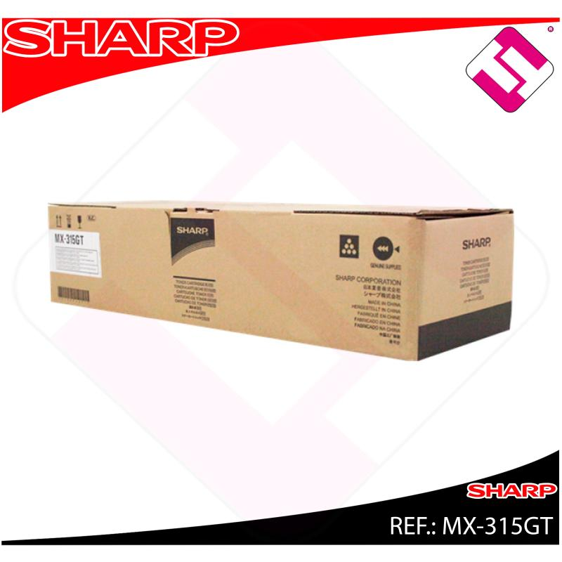 SHARP TONER NEGRO MX-M266N