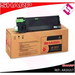 SHARP TONER COPIADORA 16.000 P GINAS AR/163/201/206 ARM/160/