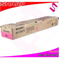 SHARP TONER COPIADORA MAGENTA MXC/310/311/380/381