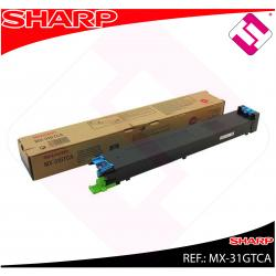 SHARP TONER COPIADORA CIAN MX/2301N/2600/3100/4100N/4101N/50