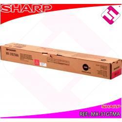 SHARP TONER COPIADORA MAGENTA MX/2301N/2600/3100/4100N/4101N