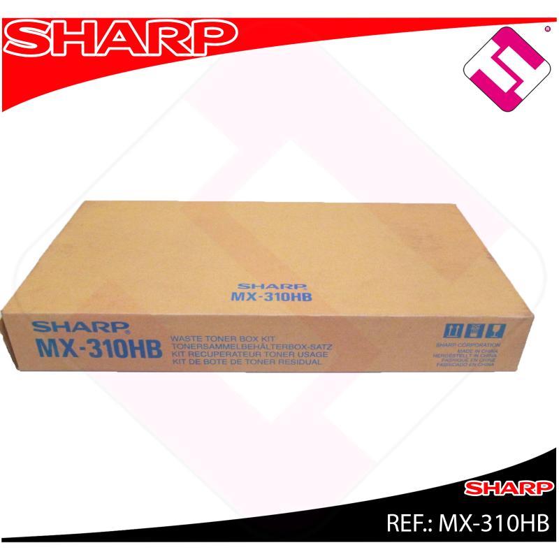 SHARP BOTE RESIDUAL COLOR MX-/2301N/2600/3100/4100N/4101N/50