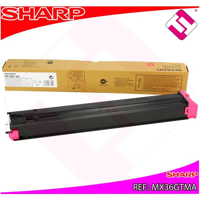 SHARP TONER COPIADORA MAGENTA MX-/2610/3110N