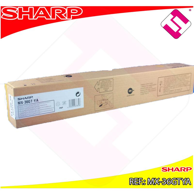 SHARP TONER COPIADORA AMARILLO MX-/2610/3110N