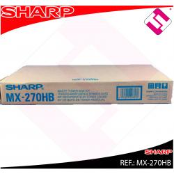 SHARP BOTE RESIDUAL NEGRO MX/2300/2700/3500/3501/4500/4501