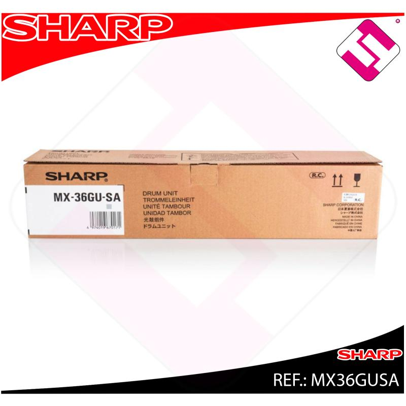SHARP TAMBOR NEGRO 100K. COLOR 60K MX2310N/2610N/3110N/3610