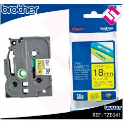 BROTHER CINTA ROTULADORA LAMINADA TRANSPARENTE/NEGRO 8M 36MM